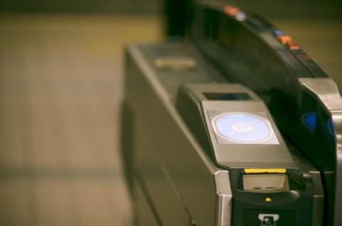 ICカード対応改札機